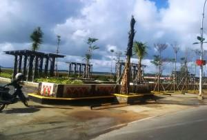 peresmian taman tepi laut kota tanjungpinang