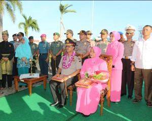 Brigjen Pol Sambudi Gusdian disambut di Batam_edit