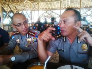 Kombes Pol Edi Yudianto dan AKBP Hartono Polda Kepri (2)