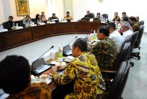Rapat Bahas Batam Bersama Jokowi