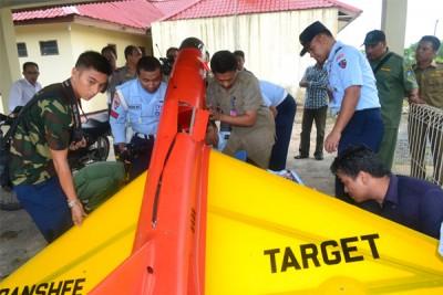 Jenis Pesawat yang jatuh di Kabupaten Bintan tahun 2012 lalu.