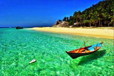 foto istiewa keindahan pantai natuna kepri