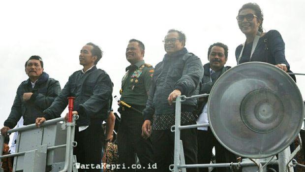 2 Warta Kepri Presiden Jokowi di Natuna