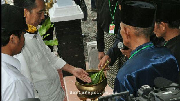 3 Warta Kepri Presiden Jokowi di Natuna