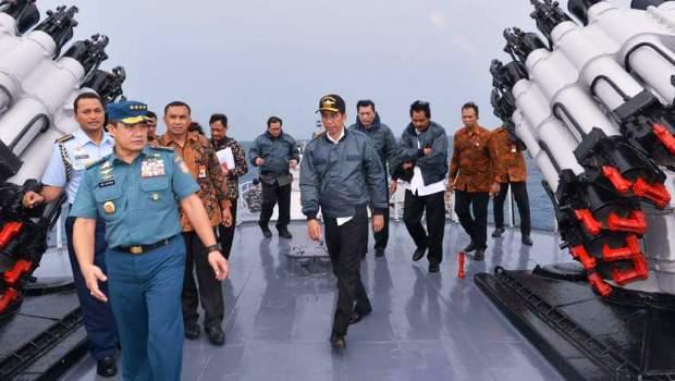 4 Warta Kepri Presiden Jokowi di Natuna