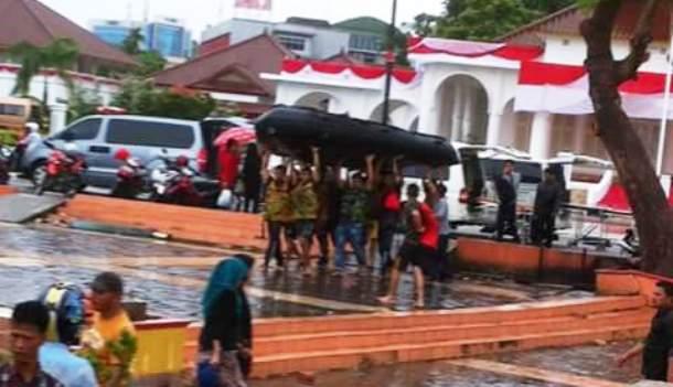 Tim Tagana Tanjungpinang melakukan proses pencarian