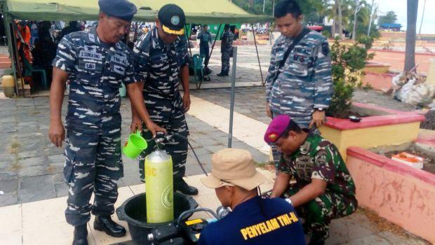 Tim SAR dari TNI AL Tanjungpinang
