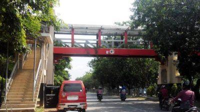 Jembatan Penyeberangan di Batamindo