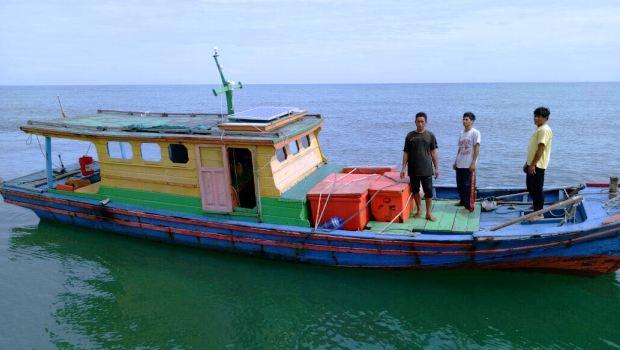 Tiga Nelayan Natuna Hilang Akhirnya Ditemukan Selamat di Malaysia