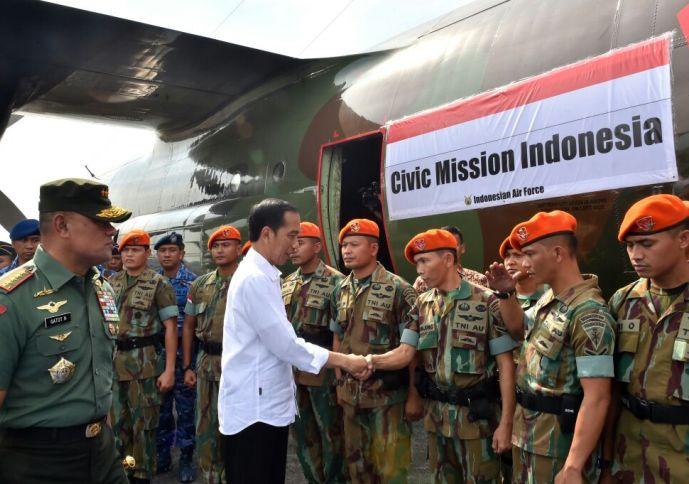 Indonesia berperan besar dalam memberikan bantuan kemanusiaan