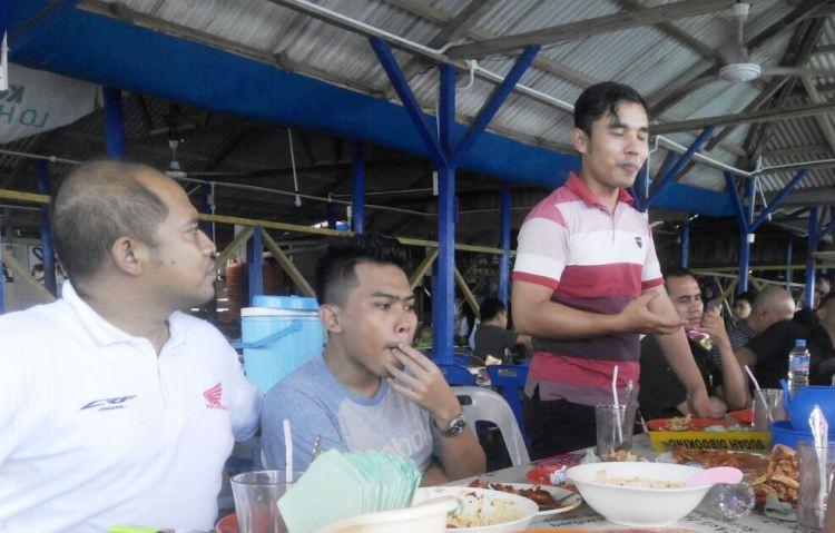 Capella Honda Kopdar Bareang Media dan Blogger