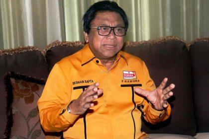 Ketua Umum Partai Hanura Oesman Sapta Odang