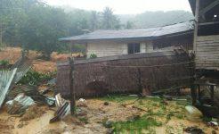 wartakepri - Salah Satu rumah terkena banjir di Jemaja