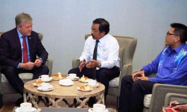Nurdin Basirun Meyakinkan Amerika Serikat Untuk Terus Menambah Investasinya di Kepri