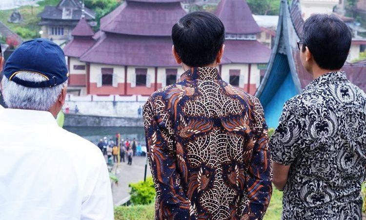Presiden Jokowi Hadir tempat pelaksanaan Peringatan Hari Pers Nasional Tahun 2018.