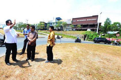 Wartakepri, Nurdin Basirun meninjau lokasi tempat pembangunan bundaran