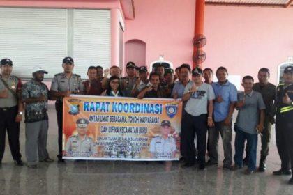 Wartakepri, Rapat Koordinasi dilaksanakan Kapolsek Buru Karimun