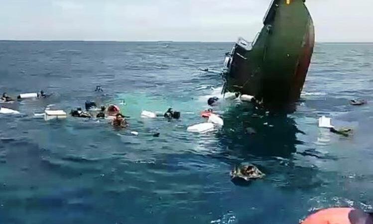 Wartakepri, Kapal Kodam Jaya tenggelam di Kepulauan Seribu Foto