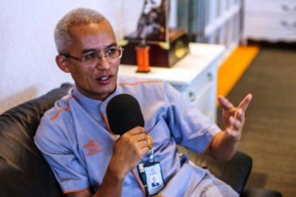 Wartakepri, Presiden Direktur PT Pos Indonesia, Gilarsi Wahju Setijono
