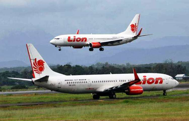 Wartakepri, pesawat lion air