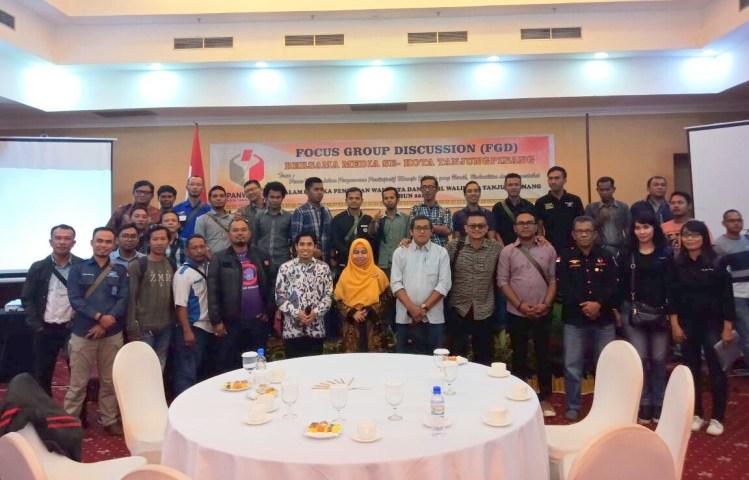 wartakepri, Panwaslu Kota Tanjungpinang Melaksanakan FGD Bersama Media Se-Kota Tanjungpinang