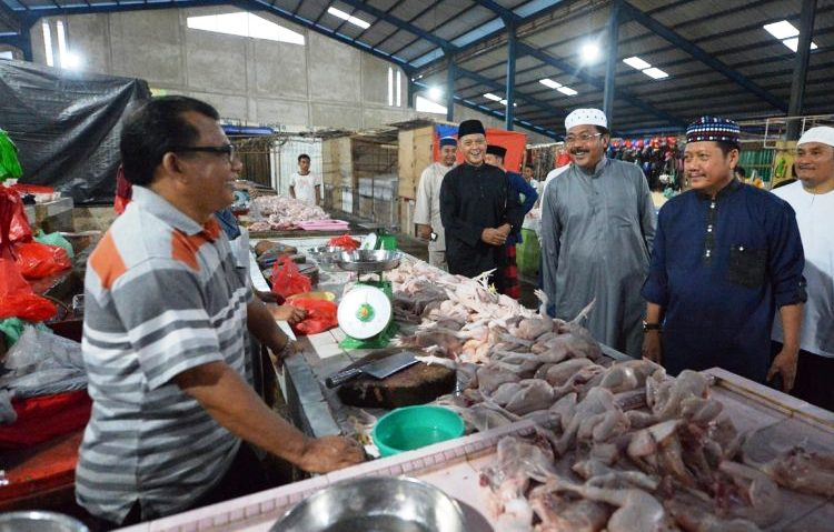 Wartakepri, Pasar BIncen di Cek Nurdin Basirun