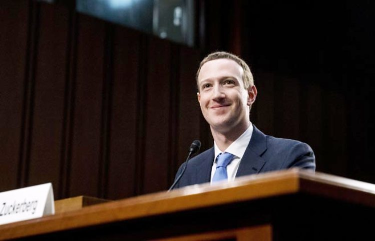 Wartakepri, CEO Facebook Mark Zuckerberg