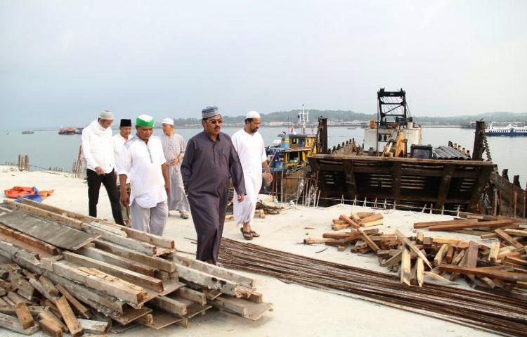 Wartakepri, Nurdin, Pengerjaan Pembangunan Dermaga Harus Selesai Tepat Waktu