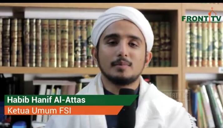 Al Habib Muhammad Hanif Bin Abdurrahman Al Attas Ajak Masa Reuni Akbar 212 Jakarta Wartakepri Co Id