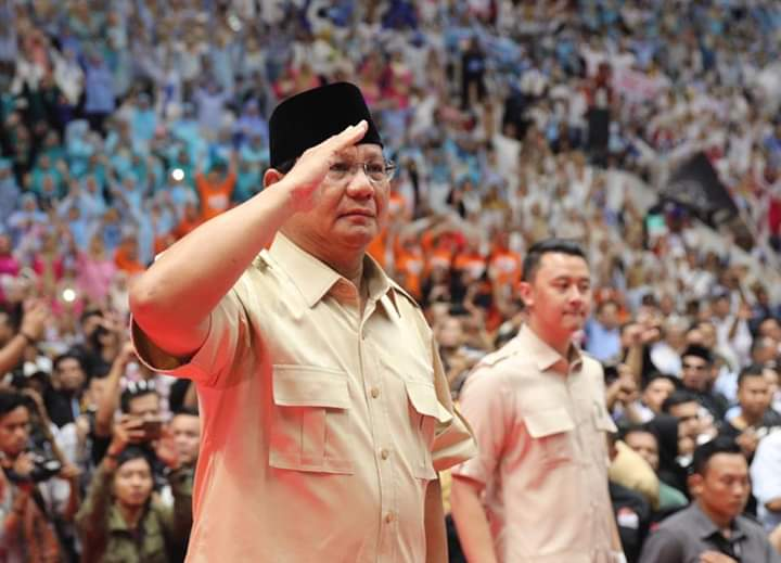 Prabowo Subianto Kami sudah Mewakafkan diri kami bagi Bangsa dan Rakyat Indonesia