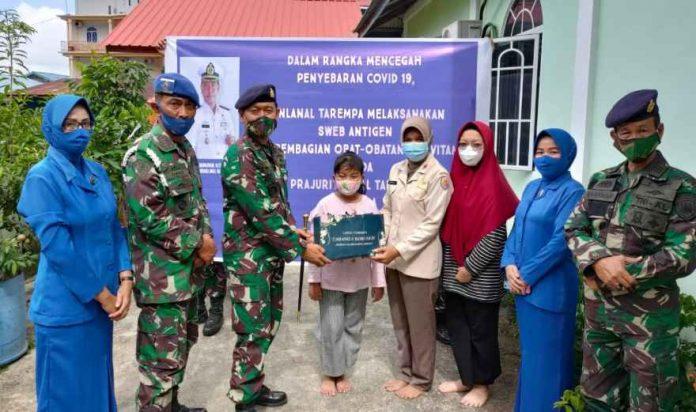 Komandan Lanal Tarempa Letkol Laut Erfan Indra Darmawan