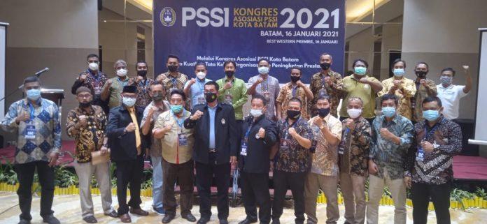 PSSI Kota Batam Gelar kongres IV Tahun 2021