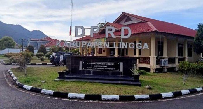 Gedung DPRD Lingga 2021