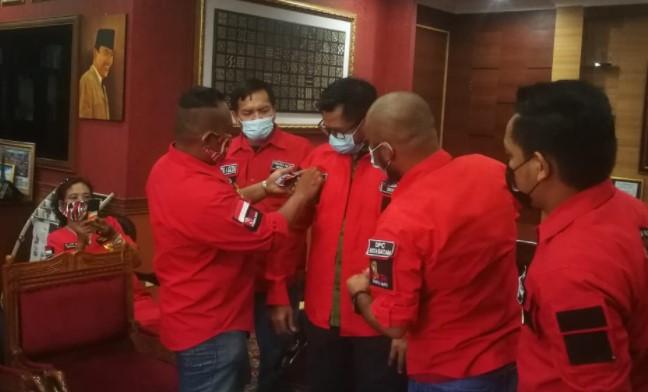 Pemuda Batak Bersatu Audiensi Ketua DPRD Batam