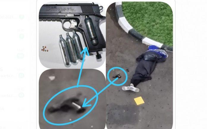 enjata Teroris wanita di Mabes Polri