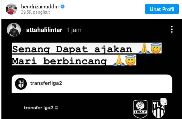 Presiden Sriwijaya FC Ajak Atta Halilintar Bergabung