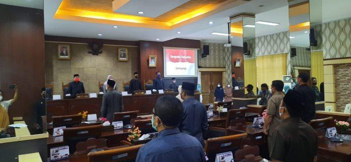 DPRD Anambas Rapat LKPJ Bupati 2020