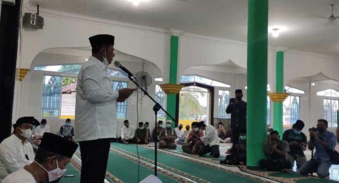 Gubernur Safari Ramadhan di Dabo Singkep