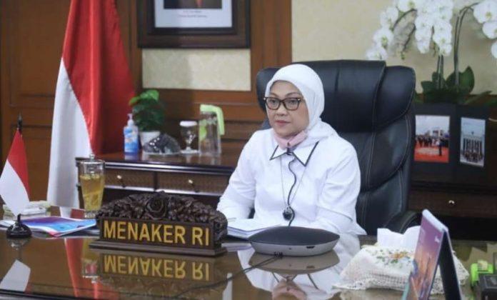 THR Pekerja dan Ida Fauziyah Menaker RI 2021