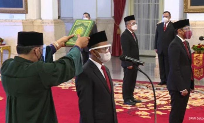 Bahlil Lahadalia Menteri Investasi