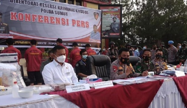 Lima Pegawai Kimia Farma Medan Diduga Pelaku Rapid Test Covid Palsu Diancam 10 Tahun Penjara