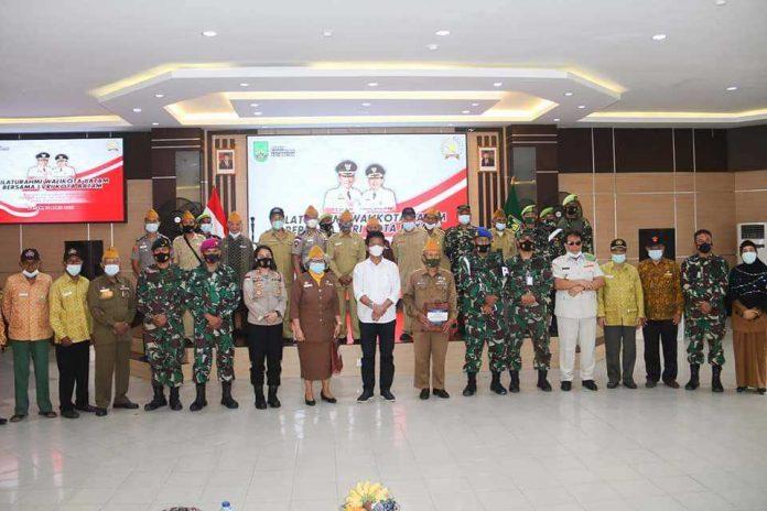 Walikota dan Veteran LVRI Kota Batam