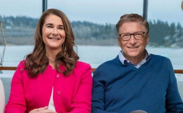 Bill Gates an Melinda Gates