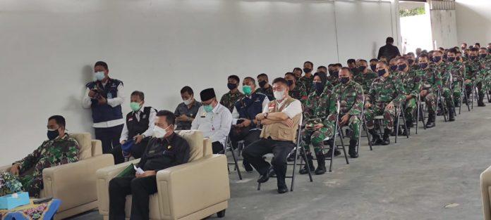 Gubernur Kepri Ansar Ahmad Tinjau RSKI Galang