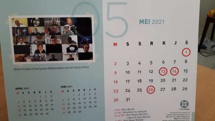 Kalender Mei 2021 Muhammadiyah
