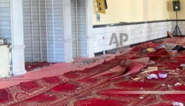 Ledakan di Masjid Kabul