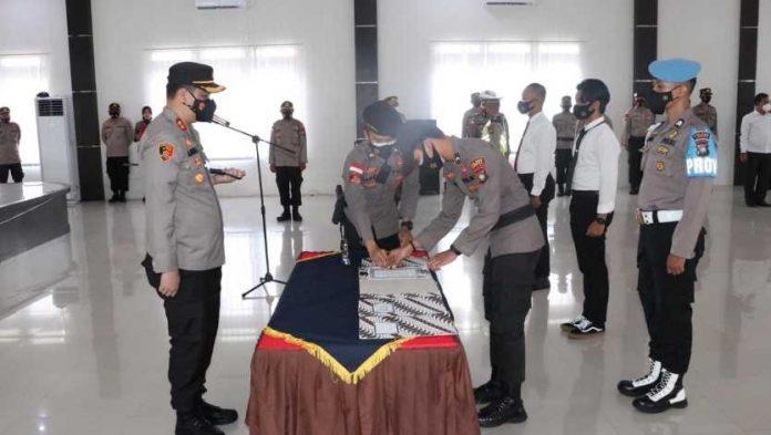 Pakta Integritas Personil Polres Lingga