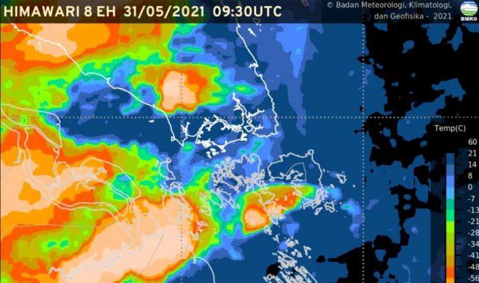 Peringatan Dini cuaca ekstrem Indonesia