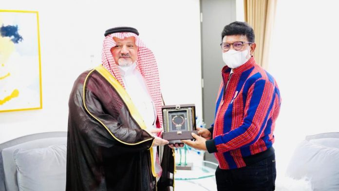 Arab Saudi dan Menteri Kominfo