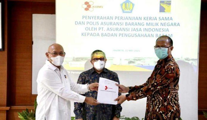 BP Batam dan Asuransi Jasindo